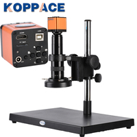 KOPPACE 16MP Full HD 1080P 60FPS HDMI USB 205X Industry Digital Microscope Camera New mobile Cell phone maintenance microscope