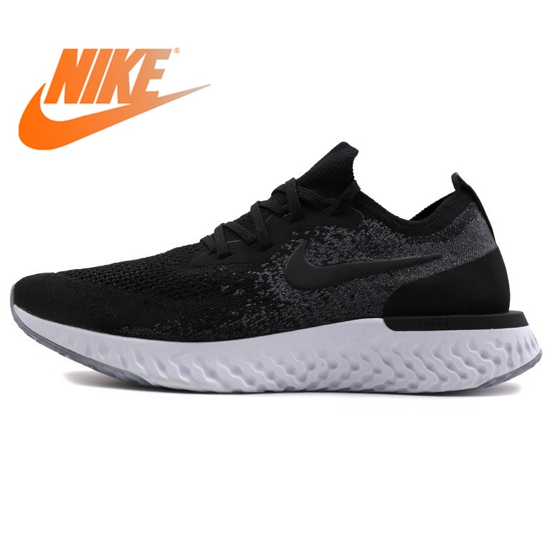 Original 2018 NIKE EPIC REACT FLYKNIT Mens Running Shoes Outdoor Stability Lace-up Sports Designer Athletics Official SneakersOriginal 2018 NIKE EPIC REACT FLYKNIT Mens Running Shoes Outdoor Stability Lace-up Sports Designer Athletics Official Sneakers