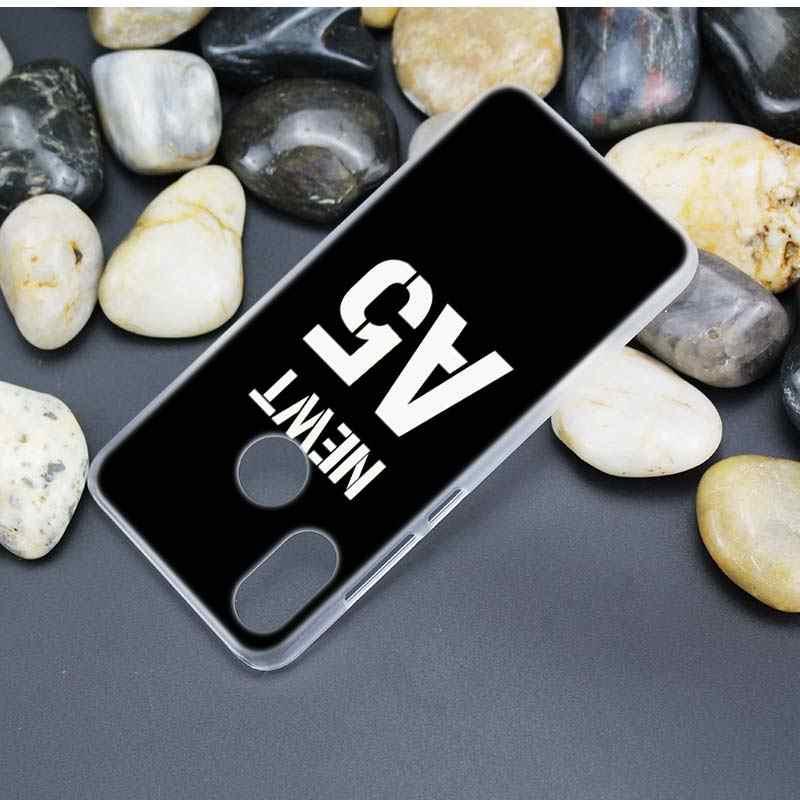 Для Xiaomi Redmi Note 7 идут 6 6A Pro S2 5 плюс 4X mi играть 8 lite A2 A1 Ясно Жесткий Пластик случае лабиринт Runner