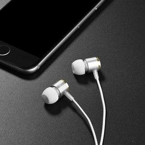 Image 3 - HOCO 이어폰 스테레오베이스 이어폰 헤드폰 3.5mm 잭 유선 제어 HiFi 이어폰 헤드셋 아이폰 Xiaomi 휴대 전화