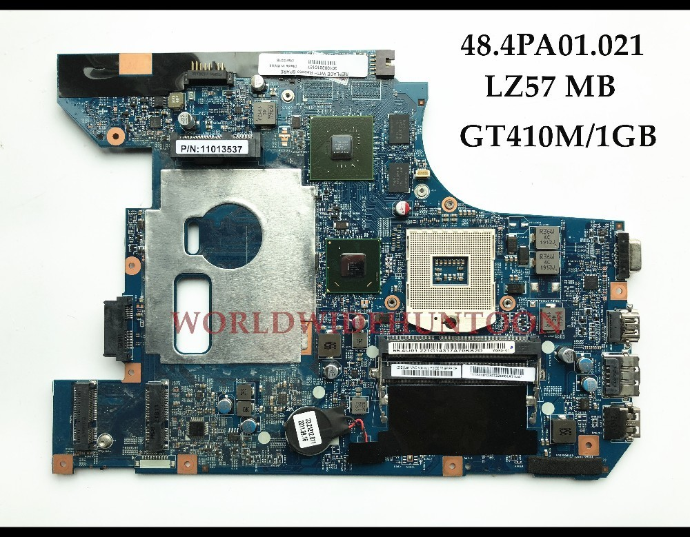 Quality 48.4PA01.021 LZ57 For Lenovo Ideapad B570 B570E Laptop Motherboard 11013537 LZ57 HM65 PGA989 DDR3 410M 1GB Fully Tested quality 48 4pa01 021 lz57 for lenovo ideapad b570 b570e laptop motherboard 11013537 lz57 hm65 pga989 ddr3 410m 1gb fully tested