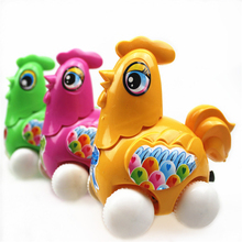 New 3Pcs Lot Lovely Rooster Mini Pull Back Toys Children s Toys Back To The Car