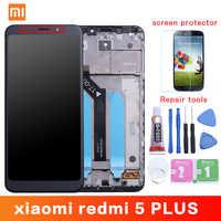 Originale Per Xiaomi Redmi 5 Più Display LCD + Frame 10 Touch Screen Redmi5 Plus Digitizer LCD di Ricambio di Riparazione di Ricambio parti