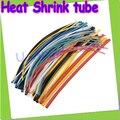 Envío libre + 10 metros/lote Alta Calidad 4 MM 5 MM 8mm Surtido de Poliolefina Heat Shrink Tubing Tube Manguitos Wire Wrap Cable Kit