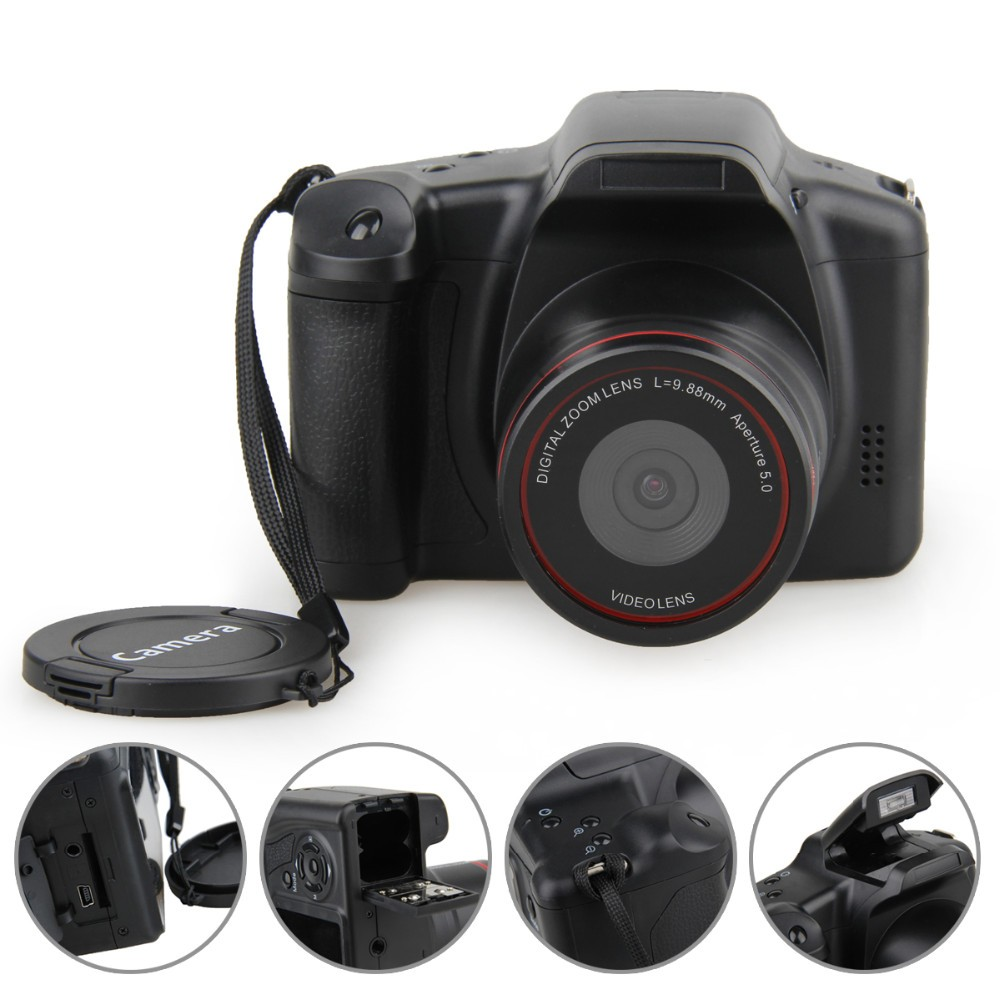 ФОТО Winait MAX.12 Mega pixels similar dslr digital camera 4x digital zoom dvr camcoder Free Shipping