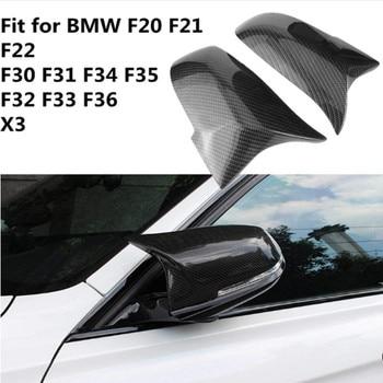 Rplacement ABS ブラック塗装ミラーカバー bmw F20 F21 F22 F23 F30 F32