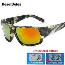 Polarized Sunglasses Men Women Sport Driving Sun glasses Brand Designer Camouflage Frame Goggle Eyewears De Sol P1028