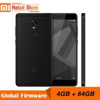 Original Xiaomi Redmi Note 4X 4GB 64GB 5 5 Inch Display Mobile Phone 4G MTK Helio