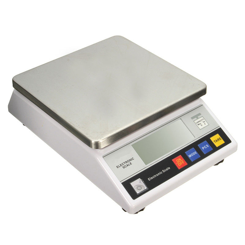 10Kg x 0.1g Electronic Precison Digital Balance Scale 10kg Weighing Capacity LCD Display With Blue Backlight precision 1mg digital scale 0 001g x 30g reloading powder grain lab jewelry gem lcd display with blue backlight weighing scales