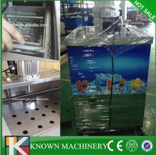Free shipping high production 4000-5000pcs/day stainless steel 2 moulds Ice cream popsicle ice lolly making machine