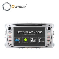 4G LTE Android 6.0 Octa 8 Core Car DVD Multimedia Player GPS per FORD Mondeo S-MAX Connect FOCUS 2 2008 2009 2010 2011 32G ROM