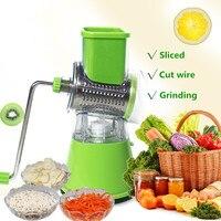 Manual Vegetable Cutter Food Chopper Mandoline Slicer Potato Spiral Cutter Vegetable Spiralizer Grater Kitchen Tools Gadgets