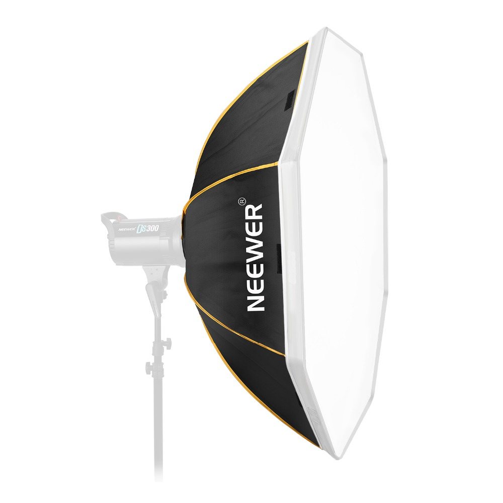 Neewer Octagon Softbox With Bowens Mount Speeding And Bag Compatible With Studio Strobe Flash Monolight  36 Inches/90 Cm