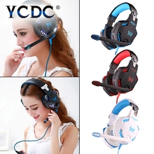 YCDC comfortable USB 3.5mm Gaming Headset Suitable for computer phone tablet Headphone With microphone Volume noise cancellling