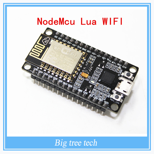 Neue Drahtlose modul 4 Mt 4 FLASH NodeMcu Lua WIFI Vernetzung entwicklung Basis ESP8266