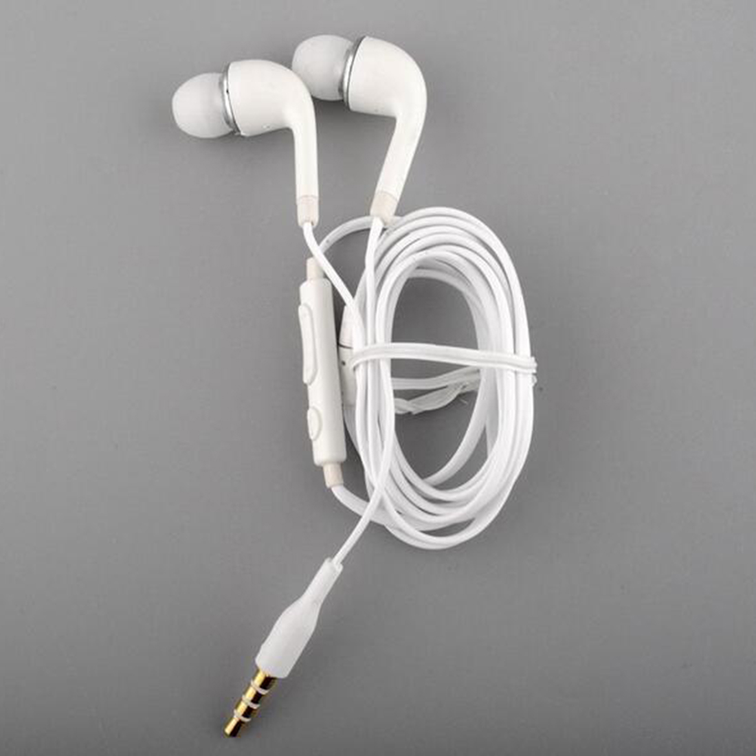 Brand New & High Quality White Handsfree Headset In Ear Earphones For SAMSUNG GALAXY S4 With Remote MIC yl in ear earphones w mic line control for samsung galaxy n7100 note 3 n9000 pink 112cm