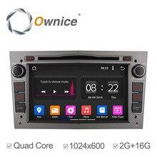 Ownice 2G RAM Quad Core Android 5.1 HD1024 * 600 Estéreo Del Coche para Vauxhall Opel Vectra Zafira Antara Corsa Astra H G DVD GPS Navi