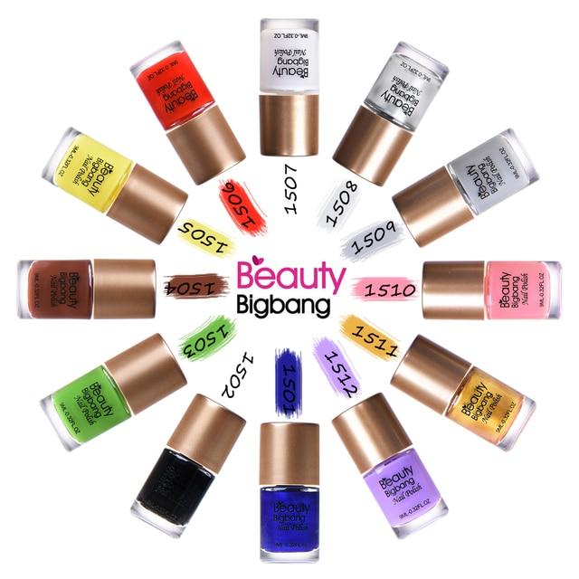 BeautyBigBang 9 ml Vernizes para Carimbar Carimbar Unha Polonês Verniz Laca de Impressão Colorida Da Arte Do Prego Unha Polonês Camaleão