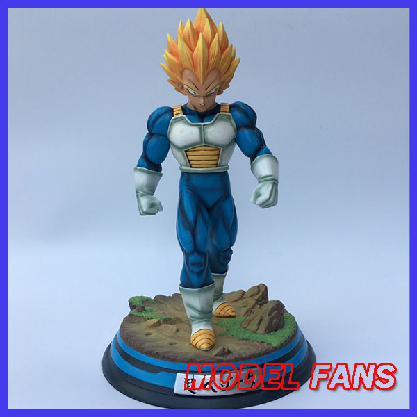 MODEL FANS IN-STOCK Dragon Ball Z 34cm super saiyan 2 Vegeta GK resin statue figure for Collection align trex 800 700 ccpm metal swashplate h70h005xxw trex 700 spare parts free shipping with tracking