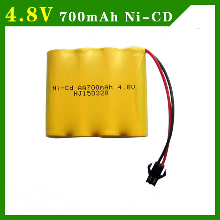 Cncool 4pcs 4.8 V 700mAh NI-CD Remote Control Toys Electric toy security facilities electric toy AA battery battery group