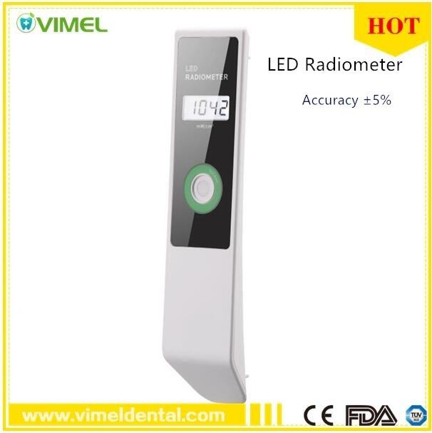 2018 nuevo medidor de luz de curado Dental radiómetro LED Visible batería de intensidad de curado con pantalla LCD-in Blanqueamiento dental from Belleza y salud    1
