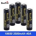 18650 аккумуляторная батарея 3500mAh 40A для Vaporesso Lux SWAG Revenger Voopoo SMOK Wismec батарея VS VTC6 VTC5 B042