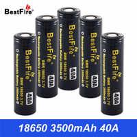 18650 batterie Akku 3500mAh 40A für Vaporesso Luxe SWAG Revenger Voopoo SMOK Wismec Batterie VS VTC6 VTC5 B042