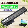 4400 mah batería del ordenador portátil para hp elitebook 2530 p 2540 p nc2400 2533 t 441675-001 eh767aa eh768aa hstnn-db22 hstnn-db23 hstnn-fb21