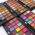 2 unids/lote Mujeres Maquillaje Kit Paleta de Sombra de Ojos Profesional 24 Colores Mate y Brillo Paleta de Maquillaje Ahumado Paleta de Ojos 2017 Primavera