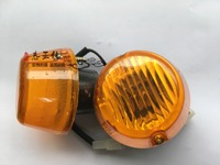كينجلونج/أجزاء yutong حافلة المدرسة حافلة السقيفة مصباح الزاوية الجانبية بدوره الضوء و مصباح شحن مجاني قطعة واحدة
