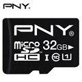 PNY Flash Memory Card 32GB 16GB 8GB Micro SDHC Class10 UHS-1 U1 SD Card Memory Microsd for Smartphone Performance Read 40MB/S