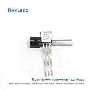 Novo original mac97a6 to-92 7a6 to92 0.6a 400v tiristor de duas vias em estoque