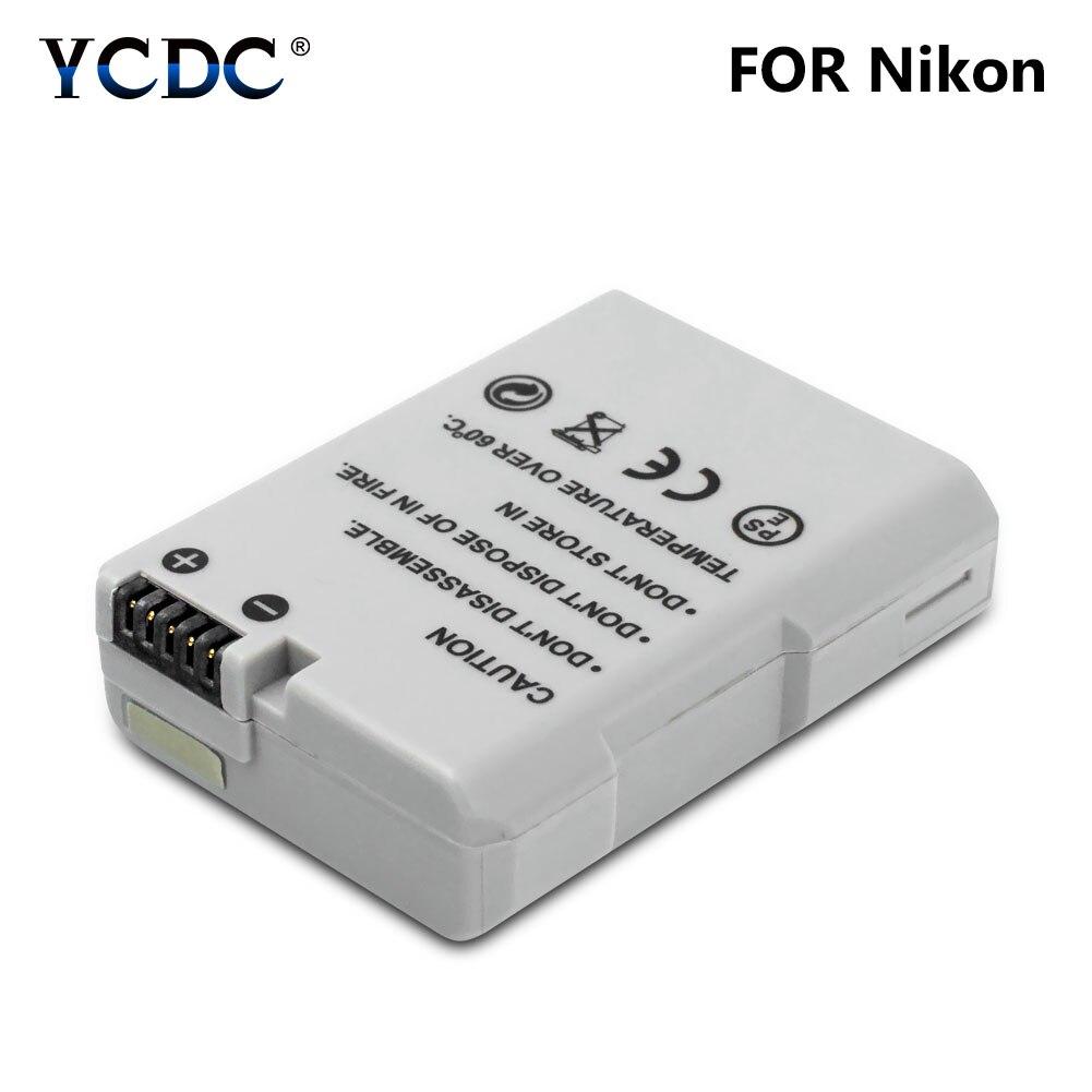 X EN-EL14A Cámara Batería 1230mAh Para Nikon D3100 D3200 D3300 D5200 D5300 2 un