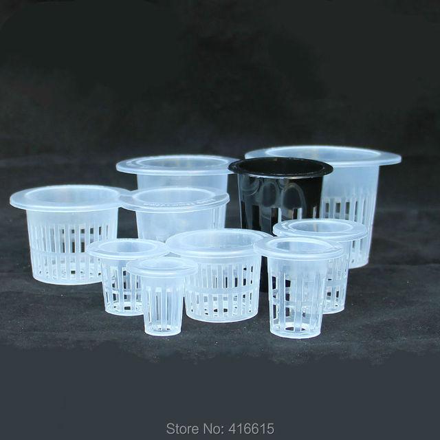 Mesh Pot Net Basket Hydroponic Aeroponic Vegetable Nursery Pots Hidroponia System Agriculture Spatial Soilless Culture Equipment