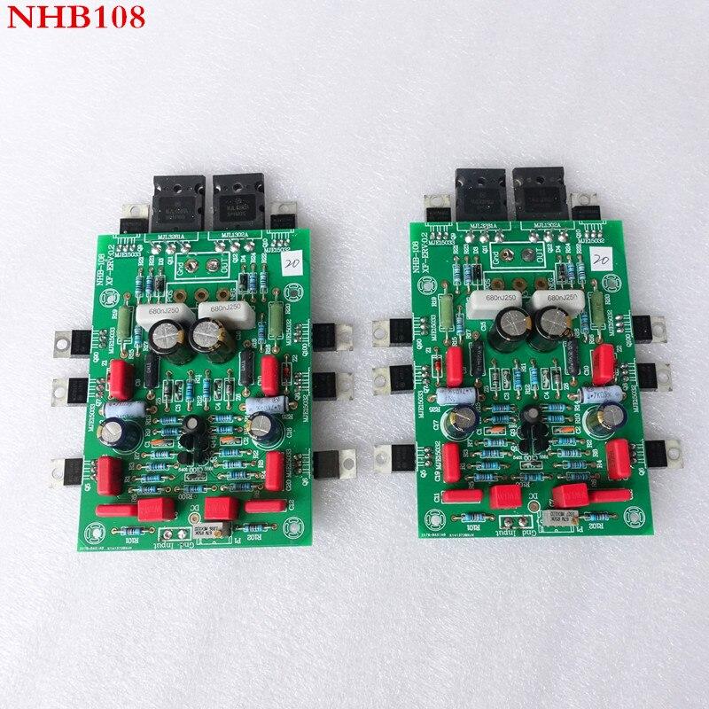 2PCS finished weiliang audio Imitate dartzeel NHB108 amplifier board