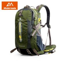 Maleroads Mochila Camping Caminhadas Mochila Saco de Desporto Ao Ar Livre Das Mulheres Dos Homens Mochila de Viagem Equipamento de Escalada Da Montanha 40 50L Trekk