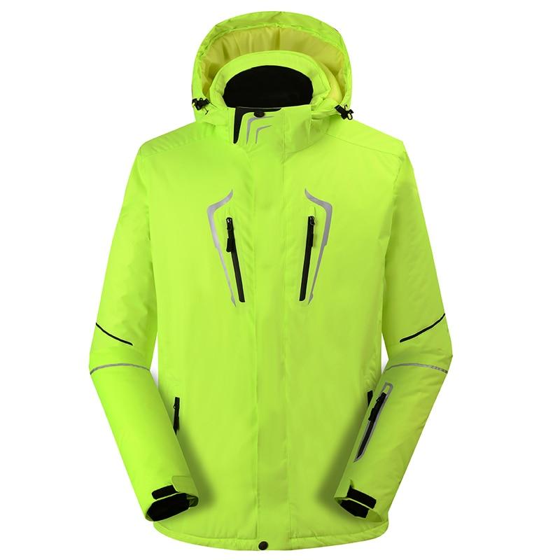 Plus Size Men's Snow Jacket outdoor sports wear special Snowboarding Clothing 10k windproof waterproof Ski suit pure color winter Coat