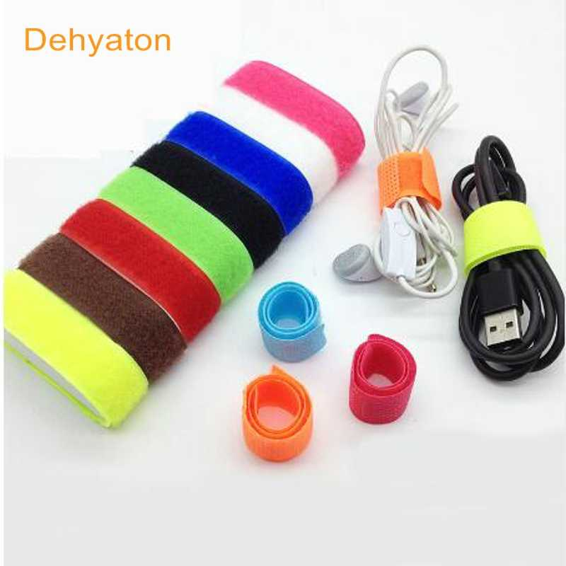 1e3fff004fde 2018 10pc Cable winder wrapped Cord Line Plug Earphone Cable Bobbin Winder  Clip Holder Wrap Wire