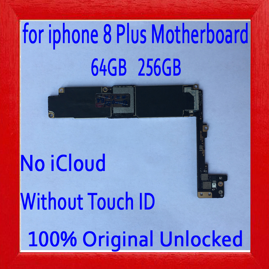 Free iCloud for iphone 8 Plus Motherboard without Touch ID,64GB 256GB for iphone 8Plus Mainboard.100% Original unlockedFree iCloud for iphone 8 Plus Motherboard without Touch ID,64GB 256GB for iphone 8Plus Mainboard.100% Original unlocked
