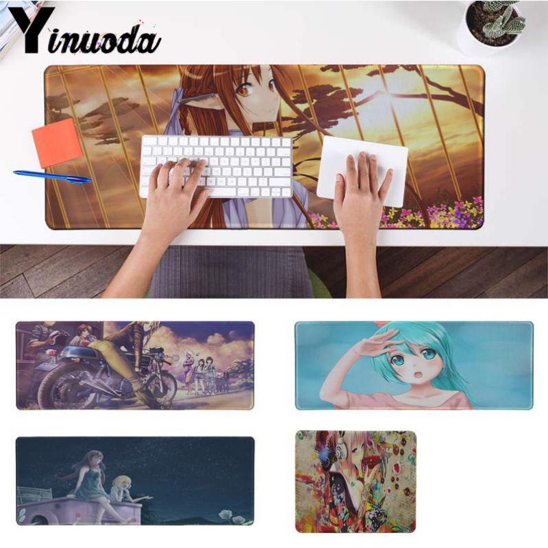 Yinuoda Одежда высшего качества Аниме Книги по искусству для офиса Мыши Gamer мягкие Мышь Pad Размеры для 18x22 см 20x25 см 25x29 см 30x90 см 40x90 см