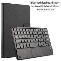 For Huawei MediaPad M3 8 4 BTV W09 BTV DL09 Magnetically Detachable ABS Bluetooth Keyboard Portfolio