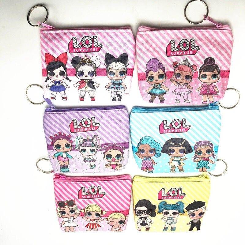 Disney кошелек для монет свежий мини сумка для хранения Творческий мультфильм Микки Маус Минни чехол для ключей дамы кошелек ЦУМ - Цвет: 1pcs random