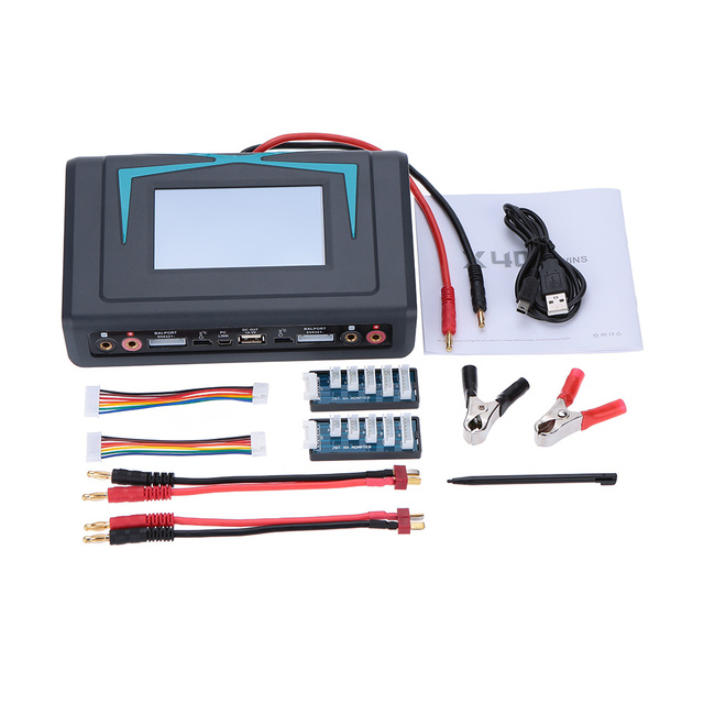 Original iMaxRC X400 Twins Released Touch Screen 400W LiFe Lion NiCd NiMh LiPo Battery Balance Charger Discharger