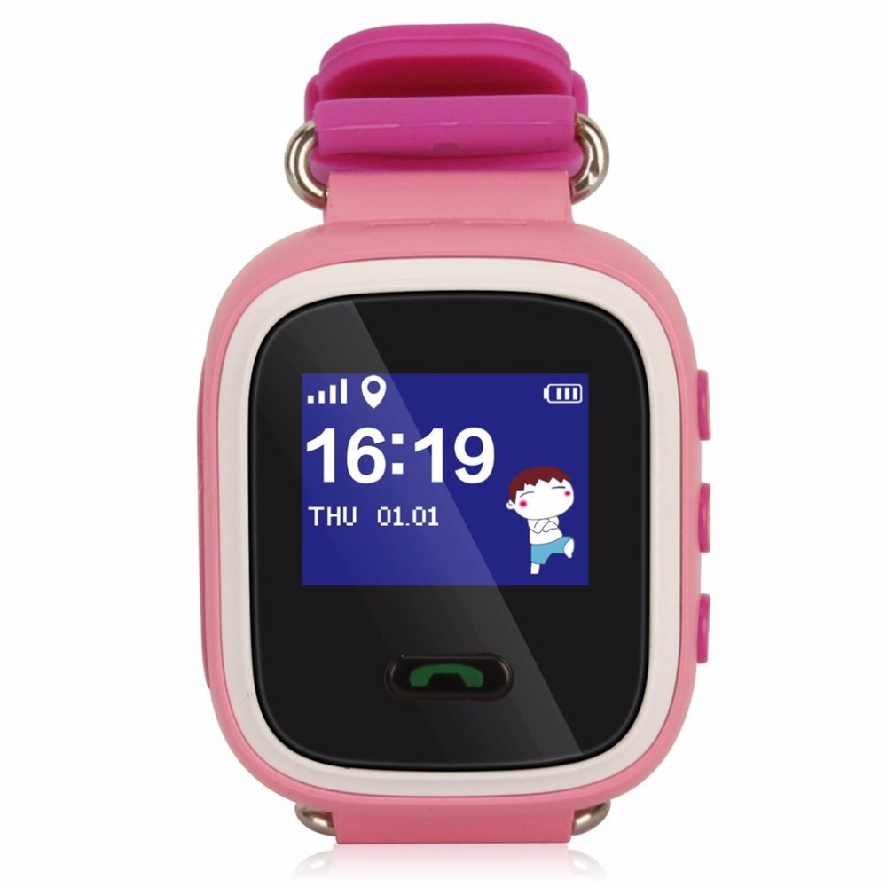 HOT Q60 Smart Watch Safe-Keeper SOS Make Call GPRS GSM Tracker Anti Lost Monitor Gift for Kids Safe Baby Watch