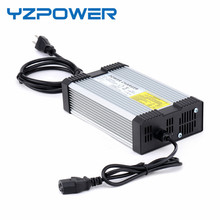 YZPOWER 50,4 V 6.5A 7A 7.5A 8A Elektrische Power Lithium Lypomer Li Ion Batterie Ladegerät für 44,4 V Ebike Chargeur Pile