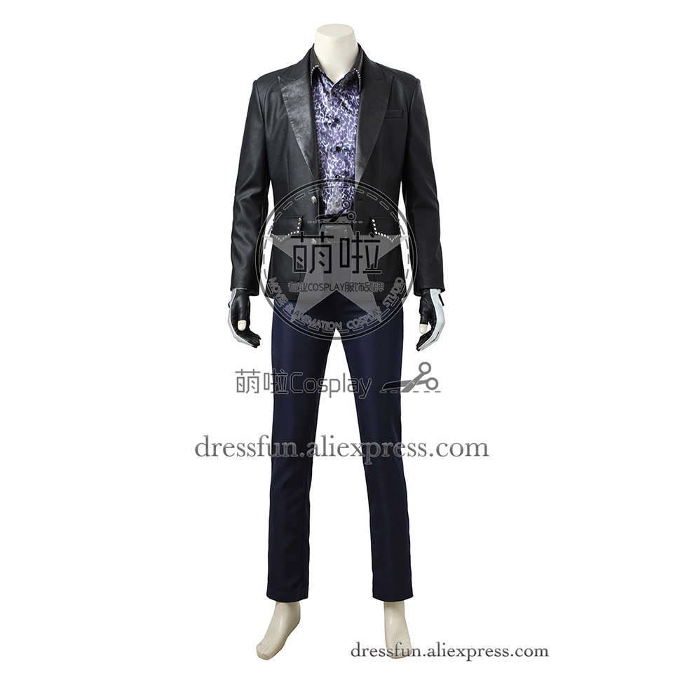 Final Fantasy XV Cosplay Costume Ignis Scientia Costume Outfits Uniform Full Set Halloween Comfortable Clothing Halloween