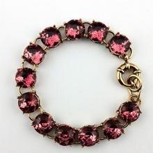 Классические граненые Кристаллы Камень Точка браслеты для женщин