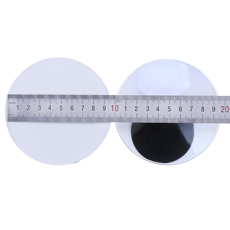 With Self-adhesive 2PCS Very Large size 10CM Round Design Plastic Movable doll Eyes Googly Eyes For Toy DIY Doll Accessories цены онлайн