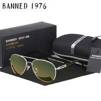 금지 1975 밤 버전 디자이너 멋진 편광 드라이브 UV 선글라스 여성 안경 Oculos 남성 안경 뜨거운 판매 상자