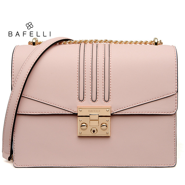 BAFELLI winter new arrival split leather bag blue bolsos mujer frosted suede cowhide crossbody bag hot sale women messenger bags